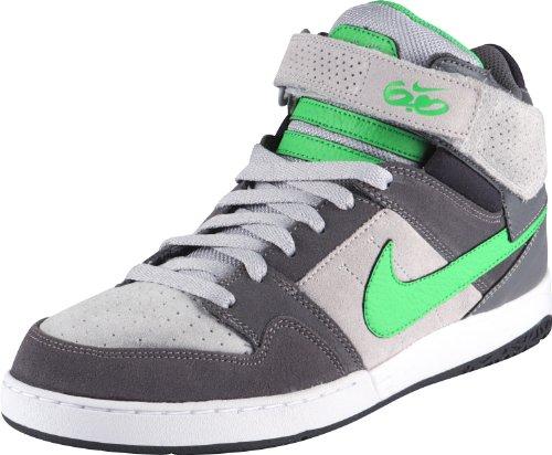 Nike Sb Zoom Mogan Mid 2 Scarpe Da Skate - Uomo Grigio Scuro / Iper Verde Lupo Grigio