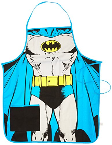 Spoontiques Batman Apron, Gray