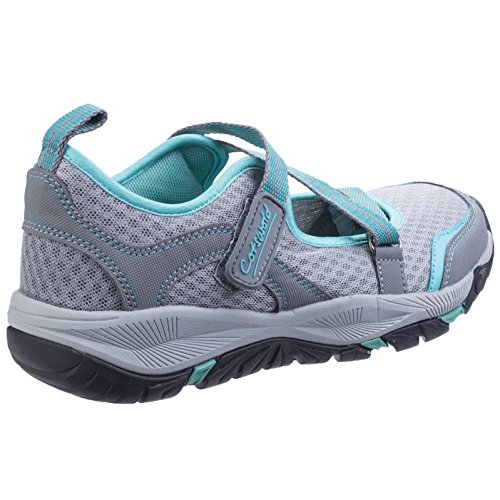 Cotswold Womens/Ladies Norton Lightweight Breathable Hikers Shoes Grey r9hIckAL