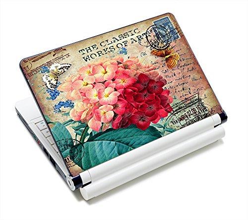 "Colorful Flower Design Art Sticker Skin Cover For 12"" 13"" 13.3"" 14"" 15"" 15.4"" 15.6"" Laptop ,Computer,Notebook Decal FP-NEK-015"
