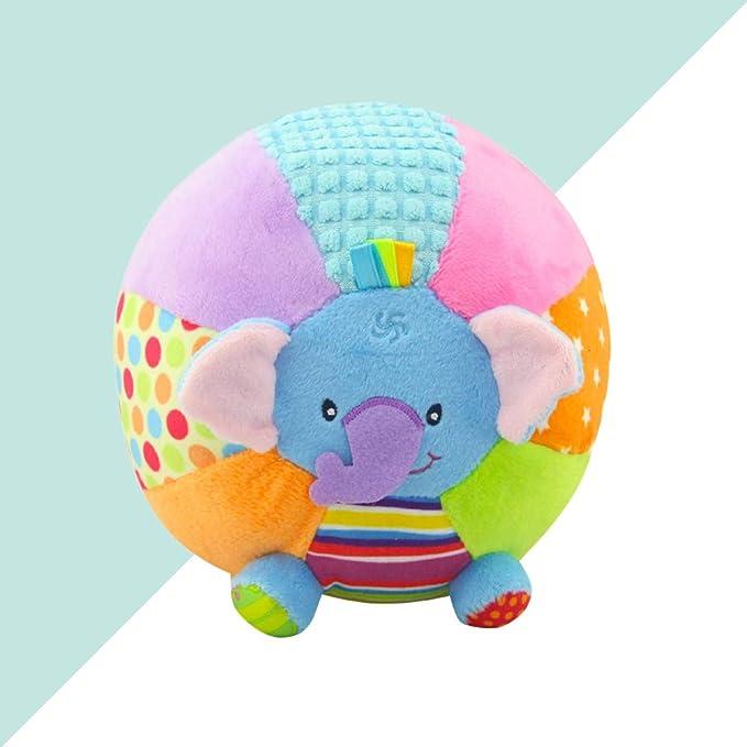 Infant Animals Sonajeros Juguete Peluche Agarrando Suave Bola con ...