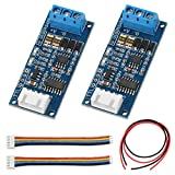 DAOKI 2Pack TTL to RS485 Adapter Module 3.3V 5V Signal Serial Port Power Supply Converter for Arduino AVR with 24AWG Wire