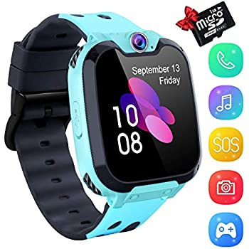 Amazon.com: Ameiqa Kids Smart Watch, Kids LBS Tracker Watch ...