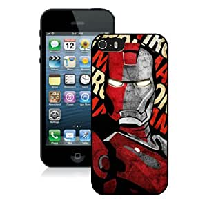 High Quality iPhone 5 5S Case ,Cool And Fantastic Designed Case With Iron man 19 Black iPhone 5 5S Cover
