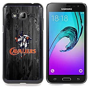 Virginia Cavalier Football Caja protectora de pl??stico duro Dise?¡Àado King Case For Samsung Galaxy J3
