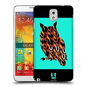Head Case Designs Owl Mad Cloak Protective Snap-on Hard Back Case Cover for Samsung Galaxy Note 3 N9000 N9002 N9005