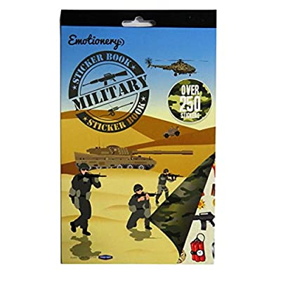 Emotionery Military Sticker Book - Over 250 Stickers: Toys & Games