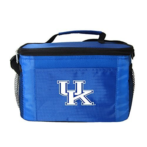 Kentucky Wildcats Tote Bag - New NCAA College 2014 Team Color Logo 6 Pack Lunch Tote Bag Cooler - Pick Team (Kentucky Wildcats)