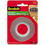 12 Pack Of Scotch Exterior Mounting Tape, 1-Inch by 60-Inch by 3M