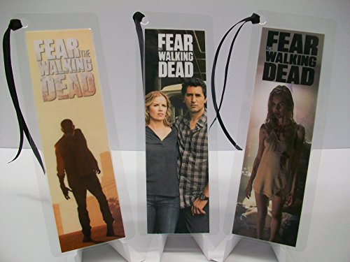 FEAR THE WALKING DEAD Bookmark Set of 3 Collectible Memorabilia complements poster comic book