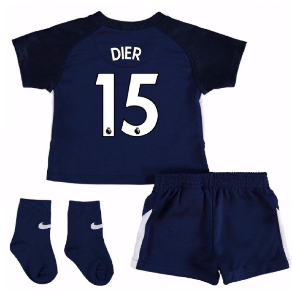 UKSoccershop 2017-18 Tottenham Away Baby Kit (Eric Dier 15)