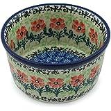 Polish Pottery Bowl 4-inch Maraschino