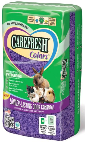 CareFRESH® Colors™ Premium Soft Bedding, Purple 10L, 2.2 Lbs.