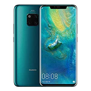 Huawei Mate 20 Pro Smartphone, 6 GB RAM + 128 GB ROM, 6.39'' display, IP68, Kirin 980 chipset, 40W HUAWEI SuperCharge, Leica Triple Camera, In-screen Fingerprint, 3D Face Unlock, Green