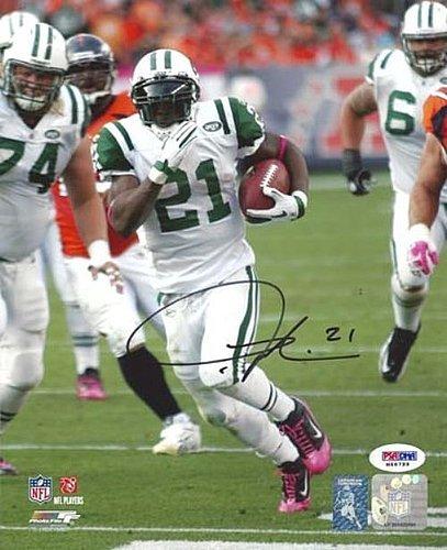 LaDainian Tomlinson Signed 8x10 Photo New York Jets - PSA/DNA Authentication - Autographed NFL Football - Ladainian Football Signed Tomlinson