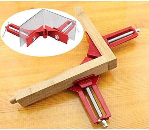 HXSD Multifunction 4inch 90 Degree Right Angle Clip Picture Frame Corner Clamp 100mm Mitre Clamps Corner Holder Woodworking Hand Tool