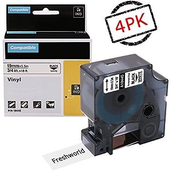 Amazon Com Dymo 18445 Rhino Permanent Vinyl Industrial