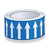 Banding Tape, Blue, Vinyl, 2'' x 54 ft. pack of 5