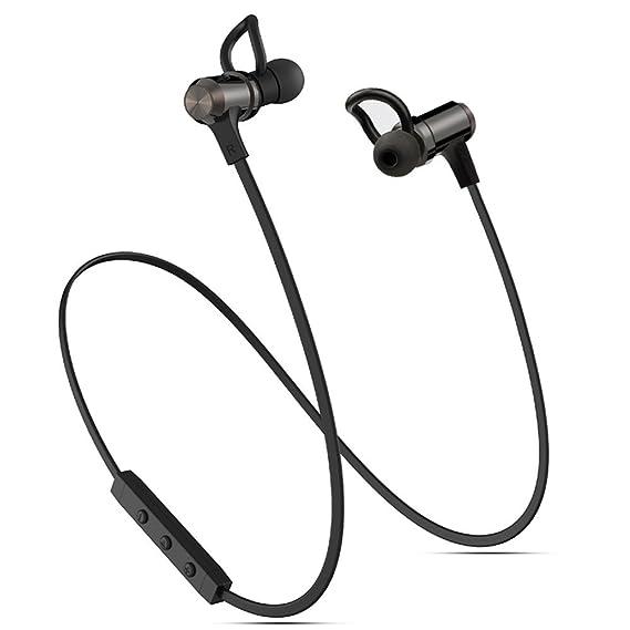 pretty nice 317d8 654e2 Bluetooth Headphones, Wireless Headphones, ACORCE Bluetooth 4.1 Headsets  Magnetic Sweatproof Noise Cancelling in Ear Earbuds Waterproof Sport ...