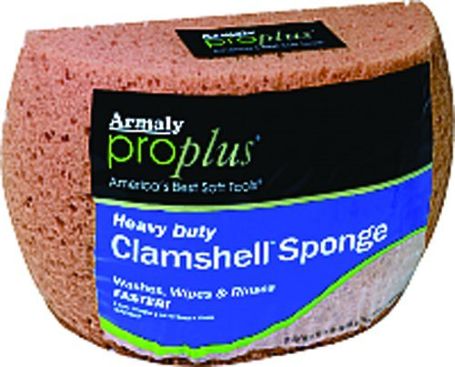 Armaly Brands 00008 Large Proplus Heavy-Duty Clamshell Utility Sponge - Large Cellulose Sponge
