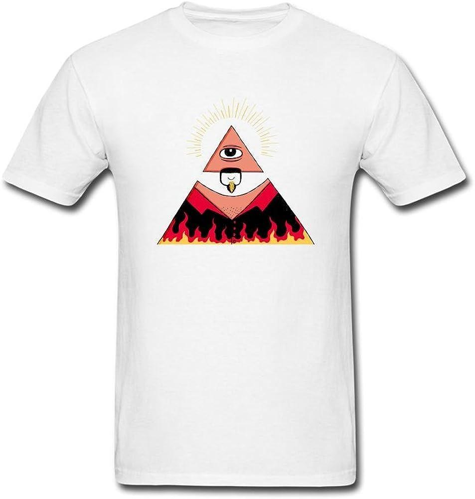 Wanenkser Funny All Seeing Eye T Shirt for Men
