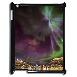 The Aurora Borealis Custom Cover Case with Hard Shell Protection for Ipad2,3,4 Case lxa#380772 by mcsharks