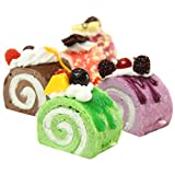 Great Deal 1 Piece Fruit Cake Kawaii Squishy Bread Charm Phone Strap