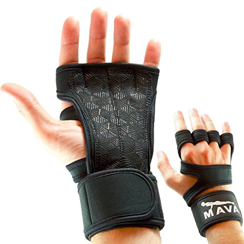 Mava Crossfit Gloves: Cross Training Gloves With Wrist Support For Fitness, WOD