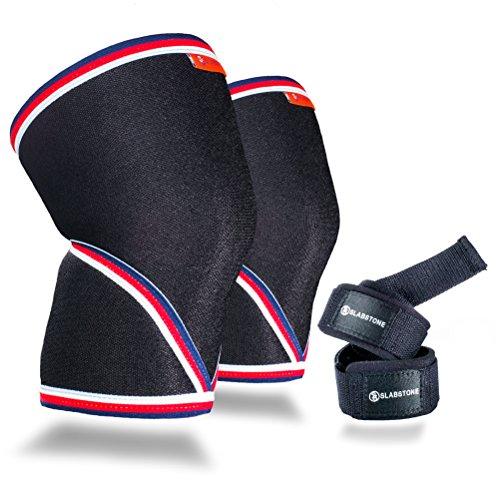 Slabstone Knee Sleeves Lifting Straps product image