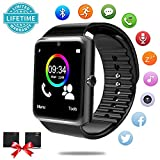 Cheap Bluetooth Smart Watch – Smartwatch for Android Phones with SIM Card Slot Camera, Fitness Watch with Sleep Monitor, Pedometer Watch for Men Women Kids Compatible iPhone Samsung LG Huawei HTC Smartphone