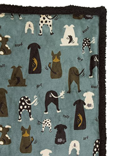 ULTRA PAWS - WARM SOFT SHERPA DOG PET BLANKET - 30 X 40 - ALL COLORS (Waggers - Liner Dog Sherpa