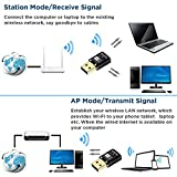 600Mbps USB Wifi Adapter, YOUYOUTE Dual Band
