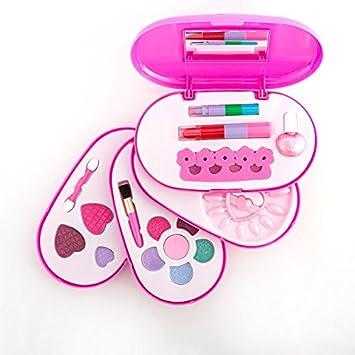 Estuche de Maquillaje Infantil con Espejo: Amazon.es: Juguetes y juegos