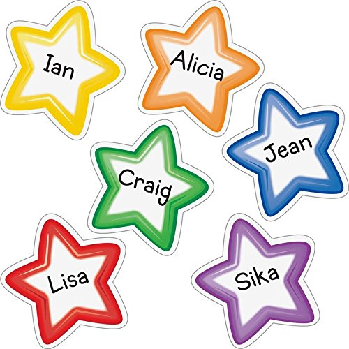 Group Color Student-Name Star Magnets