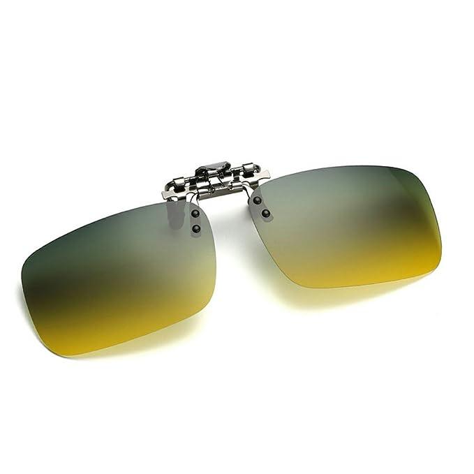 db4eb36de0d Cyxus  Day and Night Using  Polarized Lenses Classic Sunglasses Clip-On Prescription  Glasses