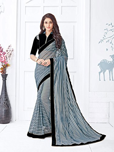 Viva-N-Diva-Grey-Net-Saree-With-Unstitched-Blouse-Piece