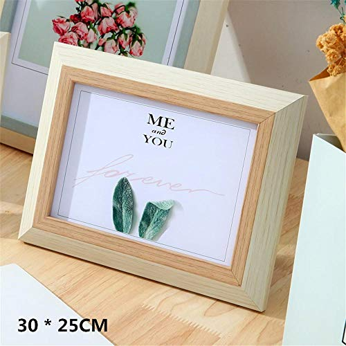 Creative Photo Frame Individual Desktop Arrangement Simple Literature and Art Small Fresh Style Applicable to Family Decoration Brown
