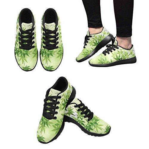 Scarpe Da Corsa Trail Running Donna Jogging Leggero Sportivo A Piedi Scarpe Da Ginnastica Atletica Foglie Dacero Sfondo Multi 1