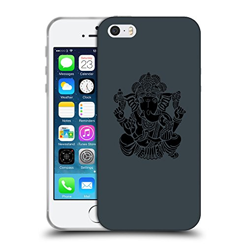 GoGoMobile Coque de Protection TPU Silicone Case pour // Q08150606 Hindou 6 Arsenic // Apple iPhone 5 5S 5G SE