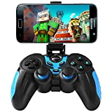 BEBONCOOL Wireless Bluetooth Gamepad with Clip for for Android Phone/Tablet/TV Box/Gear VR/Emulator