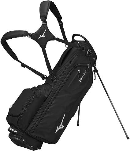 Best Golf Bags 2021 Amazon.: Mizuno 2020 BR D3 Stand Golf Bag, BLACK, BLACK