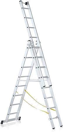 LM-Schiebeleiter 3 x 8 Sprossen Zarges Everest 3DE