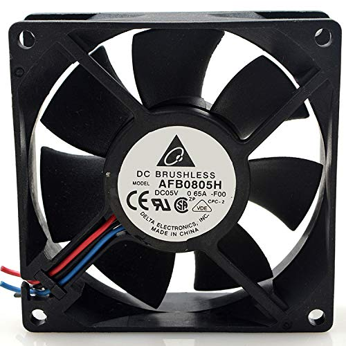 1pc for Delta AFB0805H 5V 0.65A 8025 8CM USB Dual Ball Cooling Fan