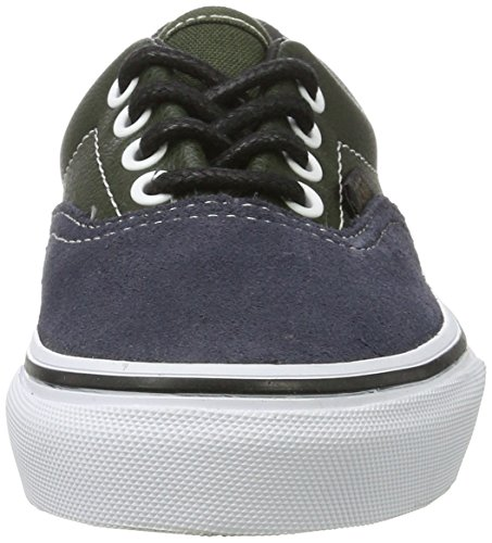 Vans Unisex-Kinder Era Low-Top Mehrfarbig (Suede & Leather/Parisian Night/Rosin)