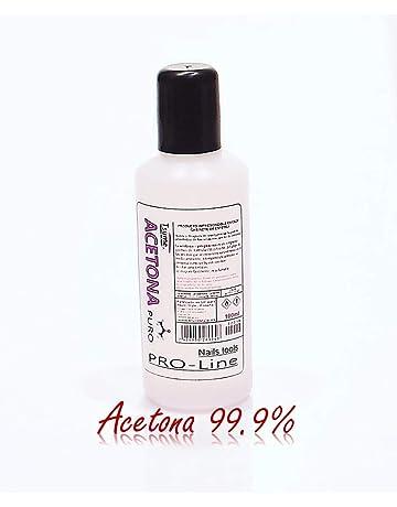 Acetona PURO - 99,9% 100ml - Elimina esmaltes permanentes, geles uv y