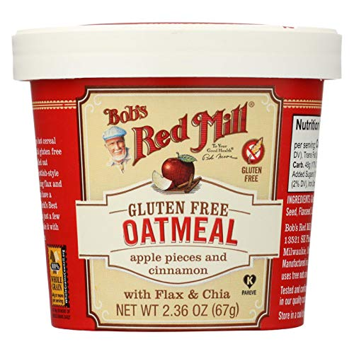 (Bob's Red Mill Gluten-Free Apple Cinnamon Oatmeal, 2.36 Ounce (Pack of 12))