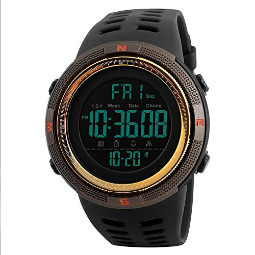 SKMEI Men #39;s Digital Watch  Black Colored Strap