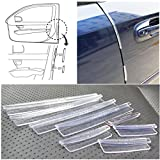 Door handle cover 3m clear protective film 8pcs Clear Car Scratch Strip Protection Protectors Door Edge Guards Trim Molding car door protector
