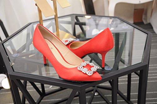 CFP - Sandalias con cuña mujer Red