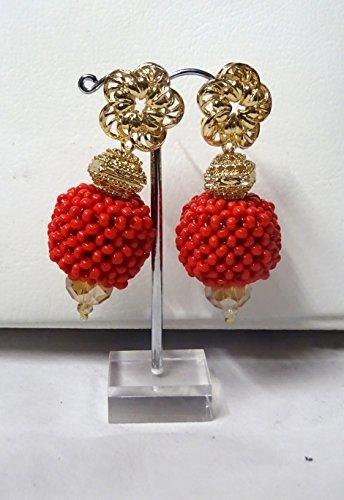 Prestigeapplause derniers Design Bleu et Rouge de mariage Perles de fête Ensemble de bijoux
